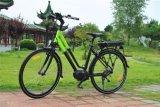 da cidade média do motor de 700c 250W bicicleta elétrica para a senhora