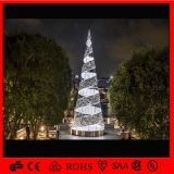 3m Stage Show Decoration Outdoor Wire Lighted Christmas Tree für Outdoor Decoration