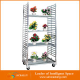 Transport Carts Flower Display Trolley Horticultural dänisches Trolleys für Potted Plants/Flowers