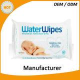 Wipes младенца качества еды 30PCS естественные очищая