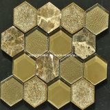 Mosaico de cerámica y de cristal del crujido de la alta calidad 2016 (OYT-S12)