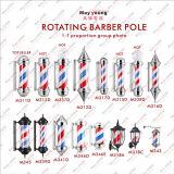 Ce, luz de poste clásica del peluquero de la fábrica de RoHS