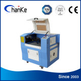 Máquinas de gravura do laser de Samll do CO2 Ck6040 para o bambu de couro acrílico
