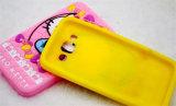 Caixa do telefone do silicone da vaquinha da curva olá! para o iPhone Samsung (XSK-007)