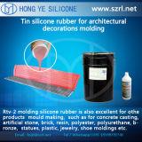 Жидкостная силиконовая резина для прессформы панели форма-опалубкы сделанной в Китае