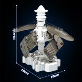011091 먼 Control Intelligent Induction Sensing Satellite Toy Doll