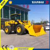 CE Approved Shandong Xiandai 5ton Wheel Loader da vendere Con Lowest Price Highquality