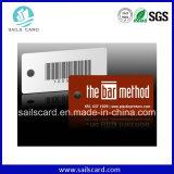 Cartão do código de barras do cartão da lealdade do PVC