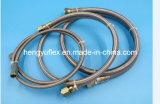 Acero inoxidable hidráulico del Teflon del tubo SAE100 R14 de PTFE 316/304 manguito trenzado