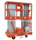 Plataforma de trabajo de aluminio móvil (mástil dual) Awp6-2000 Awp8-2000 Awp10-2000 Awp12-2000