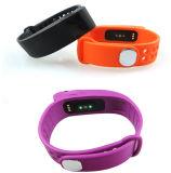 Slimme Manchet met het Ononderbroken Horloge van de Armband van de Sport van Bluetooth van de Drijver van de Fitness van de Controle en van de Activiteit van het Tarief van het Hart Slimme