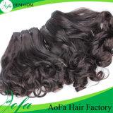 Cabelo puro do brasileiro do Virgin do melhor cabelo natural da qualidade