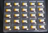 Het Li-Polymeer van het Lithium 80mAh van hoge Prestaties 3.7V Batterij 401540