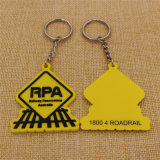 공장 Supply 10% Discount Promotion 제 2 Rubber Soft PVC Keychain
