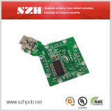 Агрегат доски PCB слоя 1oz платы с печатным монтажом 8