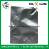 Le sac de papier d'aluminium pour des produits de beauté de fruit d'emballage et le cheveu protègent le liquide