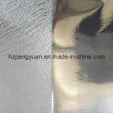 Forro de la fibra de vidrio del papel de aluminio, material de aislante del edificio