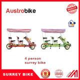 4 Bike Surrey персоны колеса 5 для конструкции семьи в Австралии