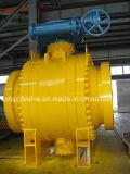 Trunnion установил шарик Клапан-Бросил сталь и кованую сталь