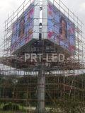 Affichage vidéo extérieur bon marché du coût P10 DEL avec l'intense luminosité