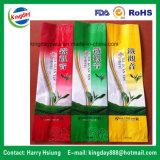 Bolso de té lateral del escudete con el material metálico