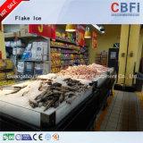 Cbfiの高い冷凍の効率の空気によって冷却される薄片の製氷機