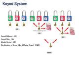 Padlock безопасности Xenoy двери оптовой продажи обеспеченностью 76mm с больше цвета