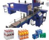 Automática del encogimiento del calor de Cine de la máquina de embalaje para botellas