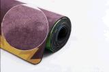 Циновка йоги полного цвета напечатанная складная