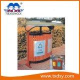 Ящики парка, ящик погани, мусорная корзина, напольные мусорные корзины