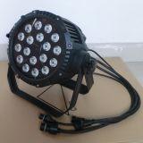 싼 옥외 방수 IP65 18PCS RGBW LED 단계 빛