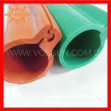 Silikon-Gummi-obenliegende Zeile deckt Isolierungs-Hülse ab