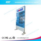 Grand étalage extérieur de signe de prix du gaz de DEL pour l'essence/station-service