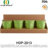 biodegradierbares Bambusmehrfarbencup der faser-400ml (HDP-2013)