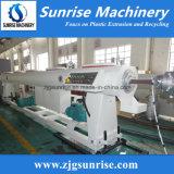 Tubo plástico que hace que la máquina/el PVC plástico transmite la fabricación de la máquina para la venta