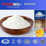 Белый глицин индустрии и качества еды 99% порошка (56-40-6)
