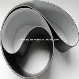 PVC黒いマット平らなコンベヤーベルト