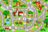 Stuoia del gioco dei bambini - disegno della strada di città - bambino/capretti Playmat