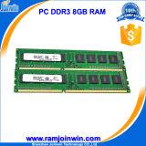 Оригинал Ett откалывает Unbuffered RAM DDR3 1600 MHz 8GB