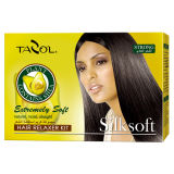 Tratamento do cabelo do jogo de Relaxer do cabelo de Silksoft