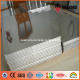 Paneling серебряного зеркала Ideabond 3mm алюминиевый для напольного украшения
