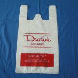 Accettare il sacchetto di plastica biodegradabile certificato della maglietta stampato abitudine