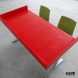 Diseño Popular 4 plazas de piedra artificial de acrílico superficie sólida mesa de comedor (KKR-TB131025A)