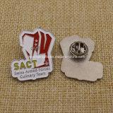 나비 클러치를 가진 2016 DIY 금 금속 접어젖힌 옷깃 Pin