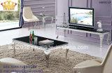 Tavolino da salotto domestico, tavolino da salotto del blocco per grafici dell'acciaio inossidabile
