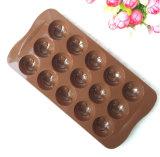 De Vorm van de Chocoladereep van het Silicone van de Vorm van het Gezicht van de glimlach