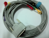 Nihon Kohden 25pin 10 DIN3.0/Banana4.0 ECG Kabel