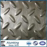 Painel de alumínio Chequered do diamante para o assoalho antiderrapagem