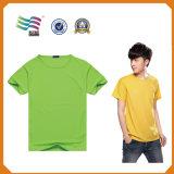 De unisex- T-shirt van de Bevordering van de Douane van de Prijs van de Volwassene en van het Jonge geitje Goedkope (hYT-S 02)