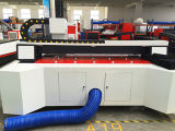 Máquina caliente de la marca del grabado del corte del laser del tubo del metal de la venta 2016